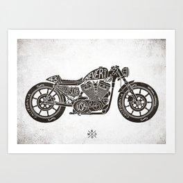 Never Die Art Print