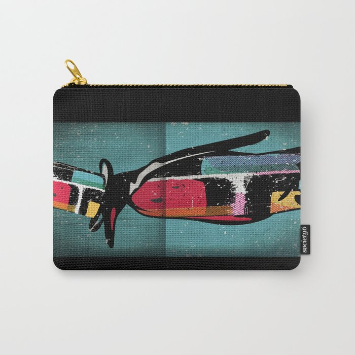 Penguin Illustration Carry-All Pouch