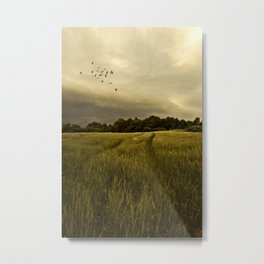 A Countryside Summer Metal Print
