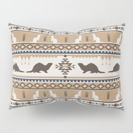 Boho Animals | Ferret tan Pillow Sham
