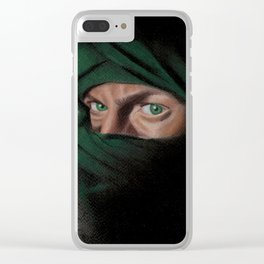Smokey Eyes Clear iPhone Case