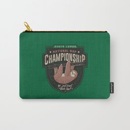 National Nap Championship Carry-All Pouch
