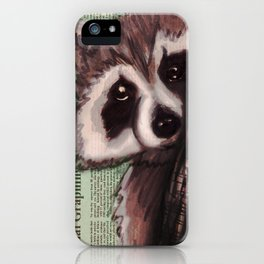 Knock, knock, RAKIN' iPhone Case