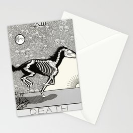 Death Tarot Card Stationery Cards