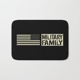 U.S. Military: Military Family (Black Flag) Bath Mat