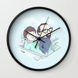 PeeWee & Mickey Wall Clock
