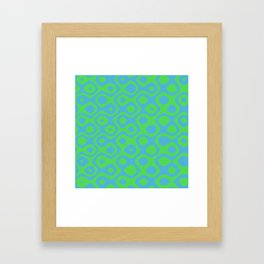 Brain Coral Green - Coral Reef Series 021 Framed Art Print