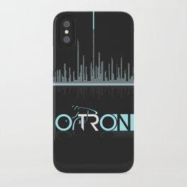 Tron Minimalist iPhone Case