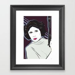 Princess to the Stars Framed Art Print