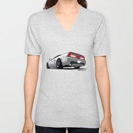 White Honda Acura NSX Unisex V-Neck