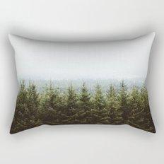 Beyond The Pines Rectangular Pillow