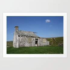 For Sale ~ Derelict Barn Art Print