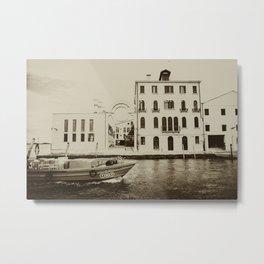 Venice, Italy, Film Photo, Analog Metal Print