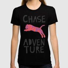 Chase Adventure, nursery art, children's art Womens Fitted Tee MEDIUM Black