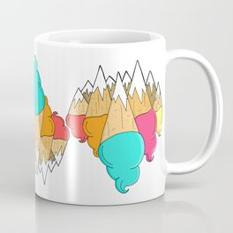 Ice-cream mounts Coffee Mug