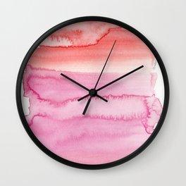 23  | Abstract Painting | 190725 Wall Clock
