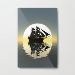 Seven Seas Metal Print