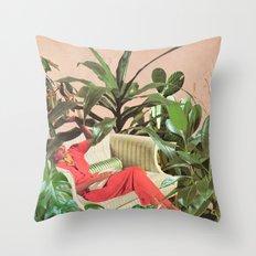 SECRET PLACE Throw Pillow