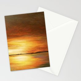morning coffee and salt air Stationery Cards