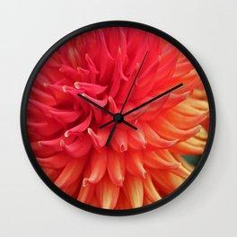 Dalhia Burst Wall Clock
