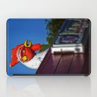 scary iPad Cases featuring Scary Chicken by Mark Alder