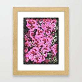 FLOWERS BY I.K.IOSIFELLI Framed Art Print