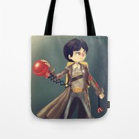 goonies Tote Bags featuring Data From The Goonies by Peerro