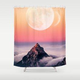 Lunar 4 Shower Curtain