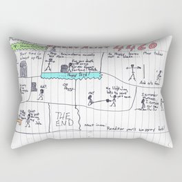 Max Morrocco: Issue 4 Rectangular Pillow
