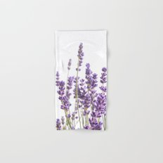 Purple Lavender #1 #decor #art #society6 Hand & Bath Towel
