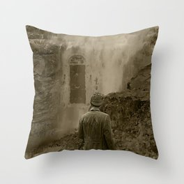 Longing for Holmes Throw Pillow