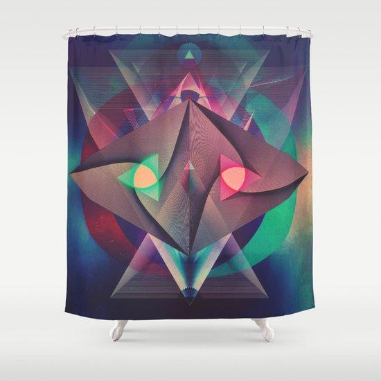 rybwwt (warm alternate) Shower Curtain