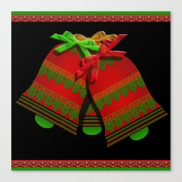 Christmas Bells Canvas Print