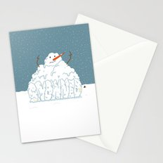 SNOWNED Stationery Cards