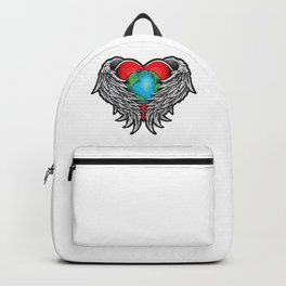 Planet Protector Earth Day Backpack