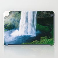 waterfall iPad Cases featuring Waterfall by StayWild