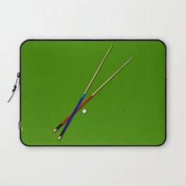 Snooker Cues Laptop Sleeve