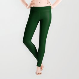 Green Boot Solid Summer Party Color Leggings