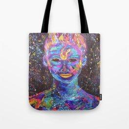 body paint Tote Bag