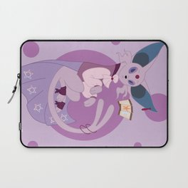 Psychic Steampunk Fox Laptop Sleeve
