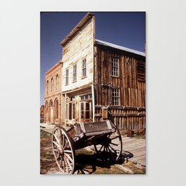 """Ghost"" Town Canvas Print"