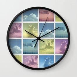 Sky ~ Matrix Wall Clock