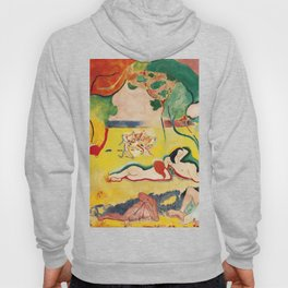 The Joy of Life - Henri Matisse - Exhibition Poster Poster Hoody