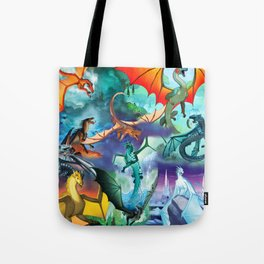 Wings Of Fire Character Tote Bag