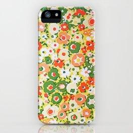 Sunset Garden Pattern No. 1 iPhone Case
