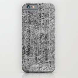 Forest camouflage iPhone Case