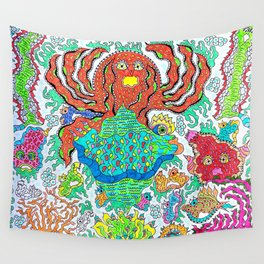 Ocala Fish Wall Tapestry