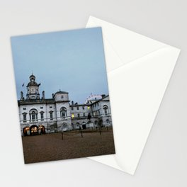 Whitehall London at Dusk Stationery Cards