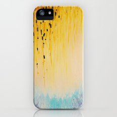 MYSTIC GARDEN Lovely Fairy Land Abstract Painting Acrylic Fine Art Winter Colorful Fantasy Magical iPhone (5, 5s) Slim Case