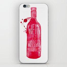 Wein iPhone Skin